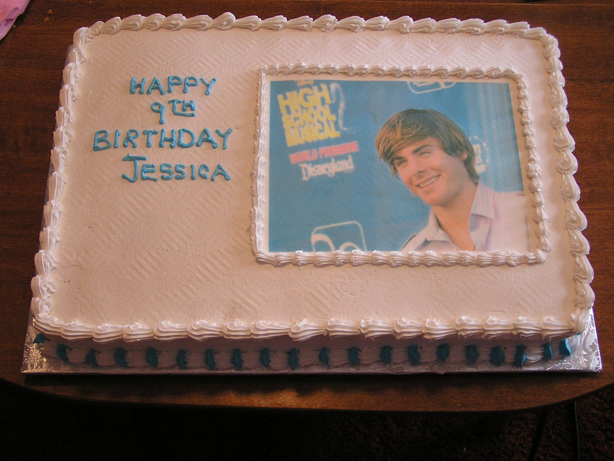 Incredible High School Musical Birthday Cake Lookin At Cakes Funny Birthday Cards Online Alyptdamsfinfo